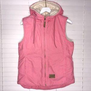 C.E. Schmidt Pink Sherpa Vest W/ Matching Gloves